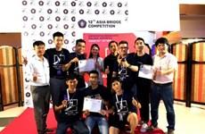Ganan estudiantes vietnamitas premios de diseño de puente asiático