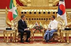Robustecen Myanmar y Corea del Sur cooperación para el desarrollo