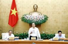 Primer ministro de Vietnam insta a reforma institucional para impulsar el crecimiento económico