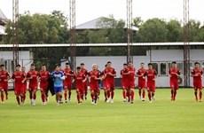 Inicia conteo regresivo para partido de fútbol Vietnam- Tailandia