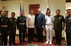 Amplían Filipinas y Rusia cooperación en defensa