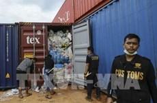 Devuelve Indonesia cientos de contenedores de basura