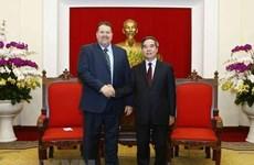 Reafirma dirigente partidista de Vietnam apoyo a corporación petrolero estadounidense