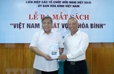 Publican libro sobre anhelo por la paz de Vietnam