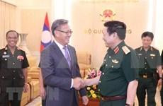 Abogan Vietnam y Laos por preservar sus nexos de solidaridad especial