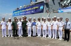 Visitan buques de armada sudcoreana ciudad vietnamita de Da Nang