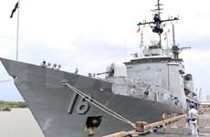 Visita Vietnam embarcación de la Armada filipina
