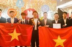 Gana Vietnam tres oros en Olimpiada Internacional de Metropolises en Moscú