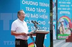 Impulsa Vietnam uso de cascos para niños por seguridad vial