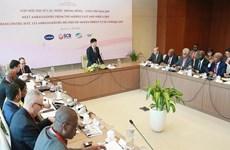Vietnam busca intensificar relaciones con Medio Oriente y África