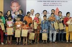 Realizan en Vietnam cirugías gratuitas a más de 200 niños con deformaciones faciales