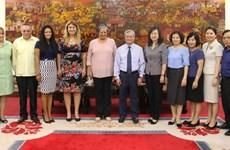Cuba y provincia vietnamita de Bac Ninh intercambian experiencias en asuntos laborales