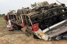 Al menos tres muertos y 28 heridos tras accidente de tráfico en Myanmar