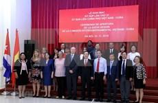 Sesiona en Hanoi Comisión Intergubernamental Vietnam-Cuba