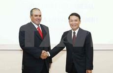 Agencias noticiosas de Vietnam y Cuba se proponen intensificar cooperación