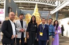 Acaparan productos artesanales de Vietnam la atención en Feria Internacional de Londres