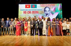 Presentan en Bangladés programa sobre la vida y obra del Presidente Ho Chi Minh