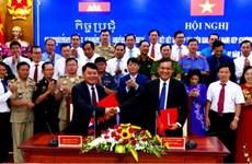 Intensifican provincias fronterizas vietnam y camboyana cooperación para el desarrollo