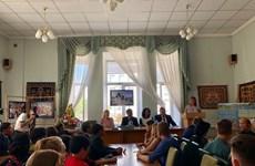 Presentan en Ucrania obra de literatura vietnamita