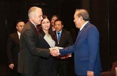 Pide vicepremier vietnamita una mayor cooperación internacional en lucha contra drogas