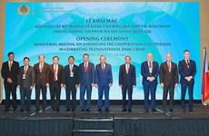 Países sudesteasiáticos se comprometen promover cooperación internacional en lucha contra narcotráfico
