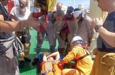 Restacan a ingeniero extranjero enfermo en archipiélago de Hoang Sa de Vietnam