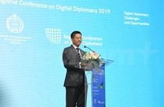 Asiste Vietnam a la Conferencia regional sobre diplomacia digital en Indonesia