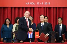 Comisión Intergubernamental Vietnam- Cuba vigoriza nexos comerciales bilaterales