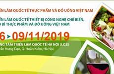 Efectuarán en Vietnam exposiciones internacionales de alimentos y bebidas