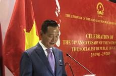 Celebran Día de la Independencia de Vietnam en extranjero