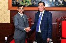 Fortalecen Vietnam y la India cooperación en la prensa