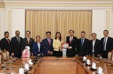 Fortalece Ciudad Ho Chi Minh cooperación con Malasia