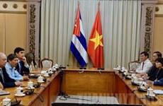 Ciudad Ho Chi Minh intensifica lazos de inversión con Cuba