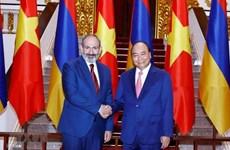 Encuentro de intercambio en Hanoi por el Día de Independencia de Armenia