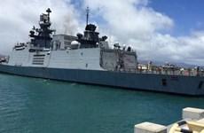 India y Malasia realizan ejercicio naval conjunto