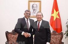Aboga vicepremier de Vietnam por intercambio de experiencias judiciales con Singapur