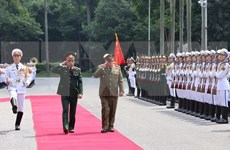 Elaborarán Vietnam y Cuba resumen de historia de cooperación en defensa