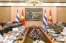 Efectúan Vietnam y Cuba tercer Diálogo sobre Políticas de Defensa