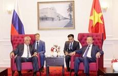 Vietnam y Rusia promueven colaboración en seguridad