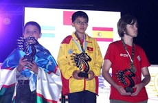 Vietnam lidera el medallero en Campeonato Mundial de Ajedrez Rápido