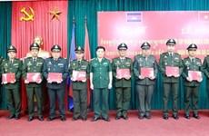 Cierra curso de capacitación de estrategia militar para ejército camboyano