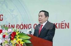 Contribuirá Frente de la Patria de Vietnam a fomentar la unidad nacional