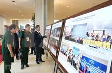 Exhiben fotos en saludo al XI Congreso del Frente de la Patria de Vietnam