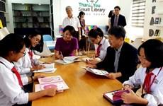 Patrocina Corea del Sur pequeñas bibliotecas en Vietnam
