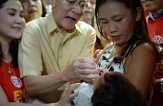 Inicia Filipinas campaña de vacunación contra poliomielitis