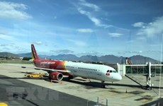 Cancela aerolínea vietnamita Vietjet Air vuelos debido a tormenta Tapah