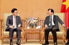 Aprecia vicepremier de Vietnam actividades del grupo sudcoreano Lotte