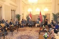 Realiza vicepremier de Vietnam visita oficial a Singapur