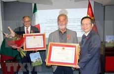 Fomentan cooperación Vietnam e Italia