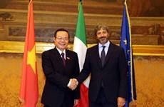 Vietnam e Italia profundizan asociación estratégica